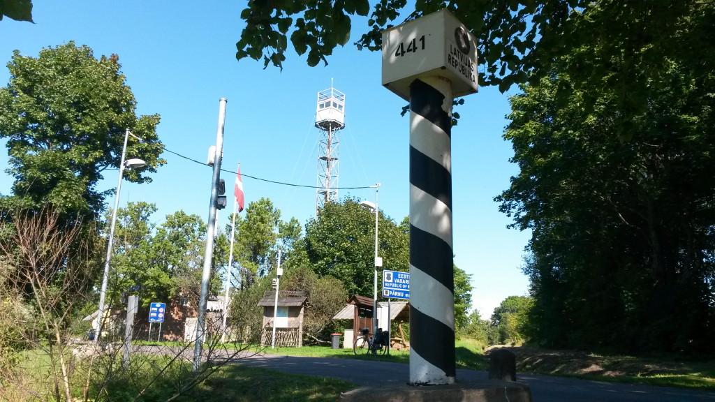 Grenze Lettland Estland