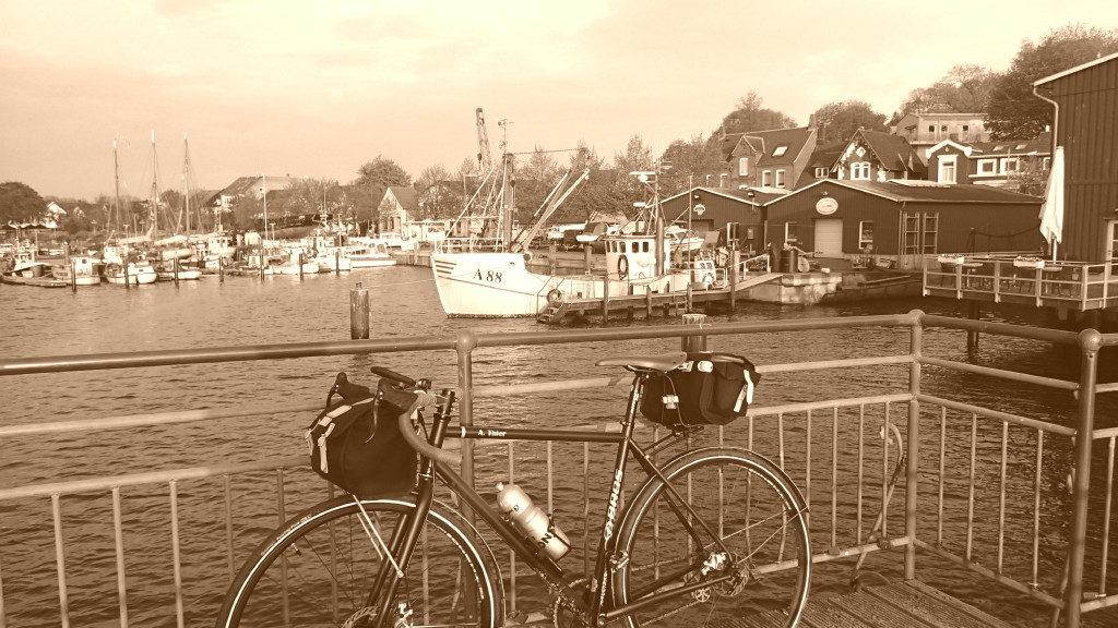 Morgenstimmung im Hafen von Eckernförde