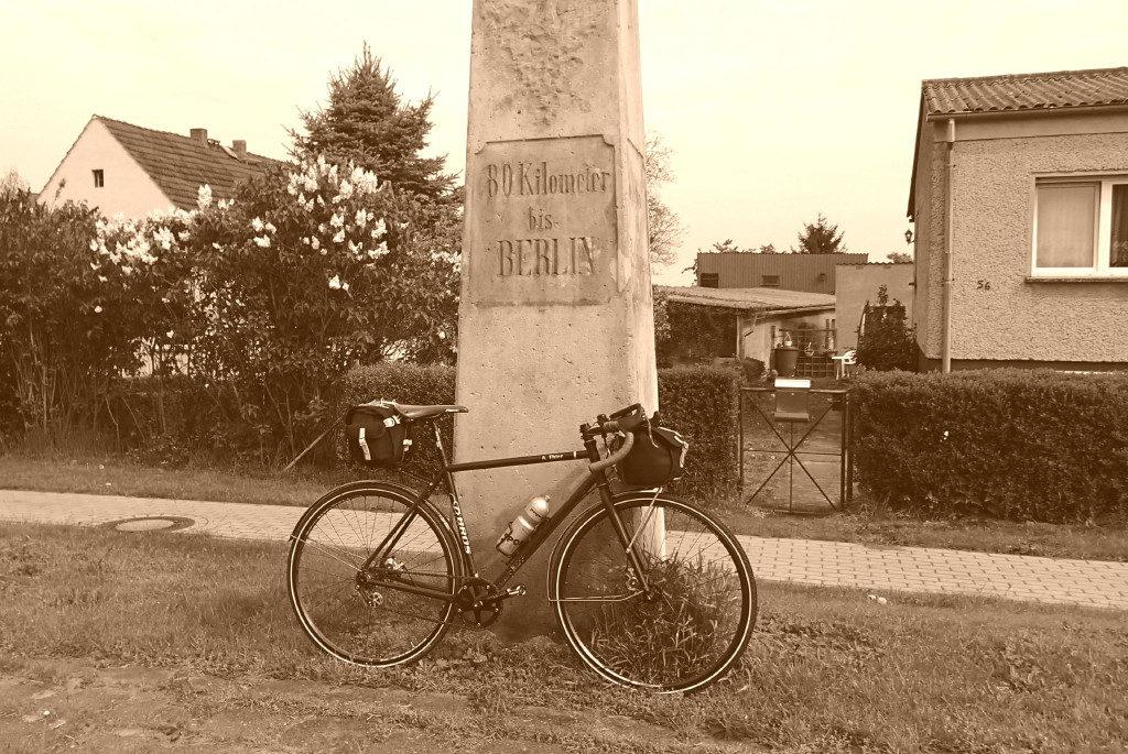 Noch 80 km bis Berlin