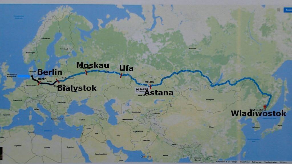 Nächster Halt Moskau ???
